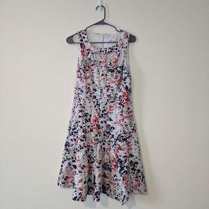 Jessica Simpson Sz 12 Panel Fit & Flare Dress